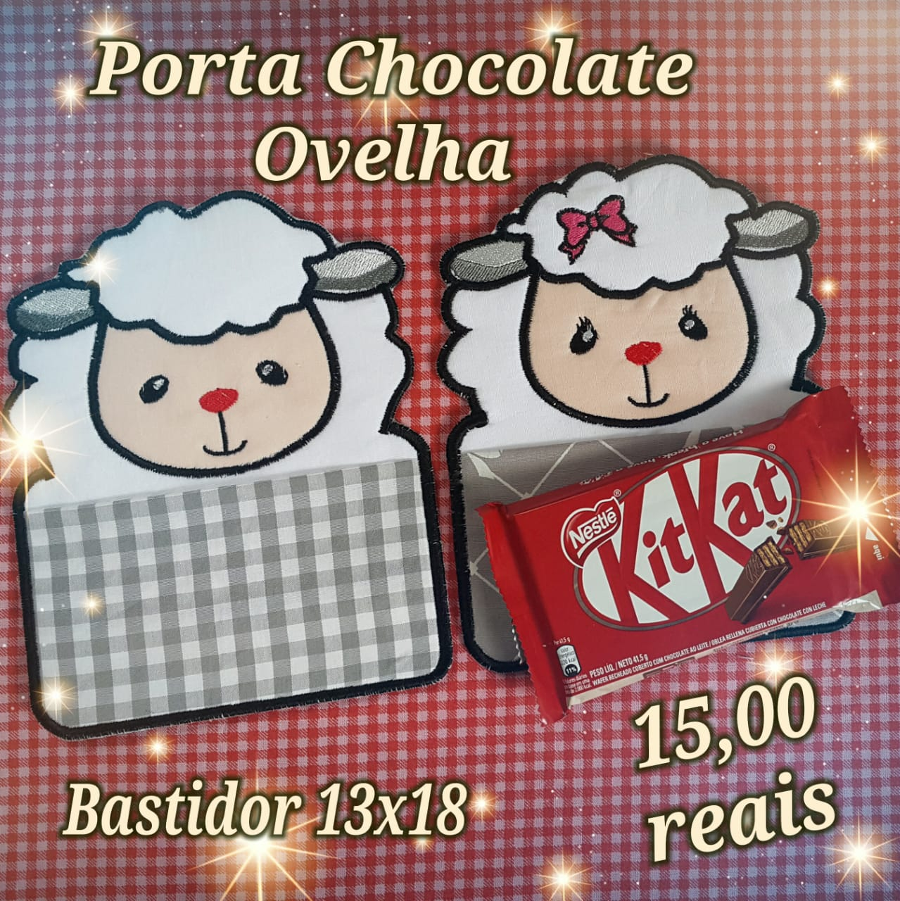 Porta Chocolate Ovelha